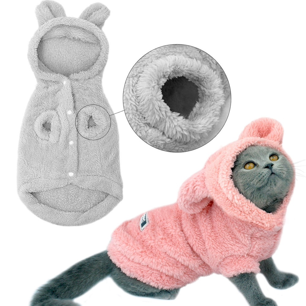 #caturday #gift Cat Clothes Hoodies Cat Coats Jacket Costumes Winter Pet Mascotas Dog Clothes For Small Medium Dogs Cats Kitten Outfits Apparel