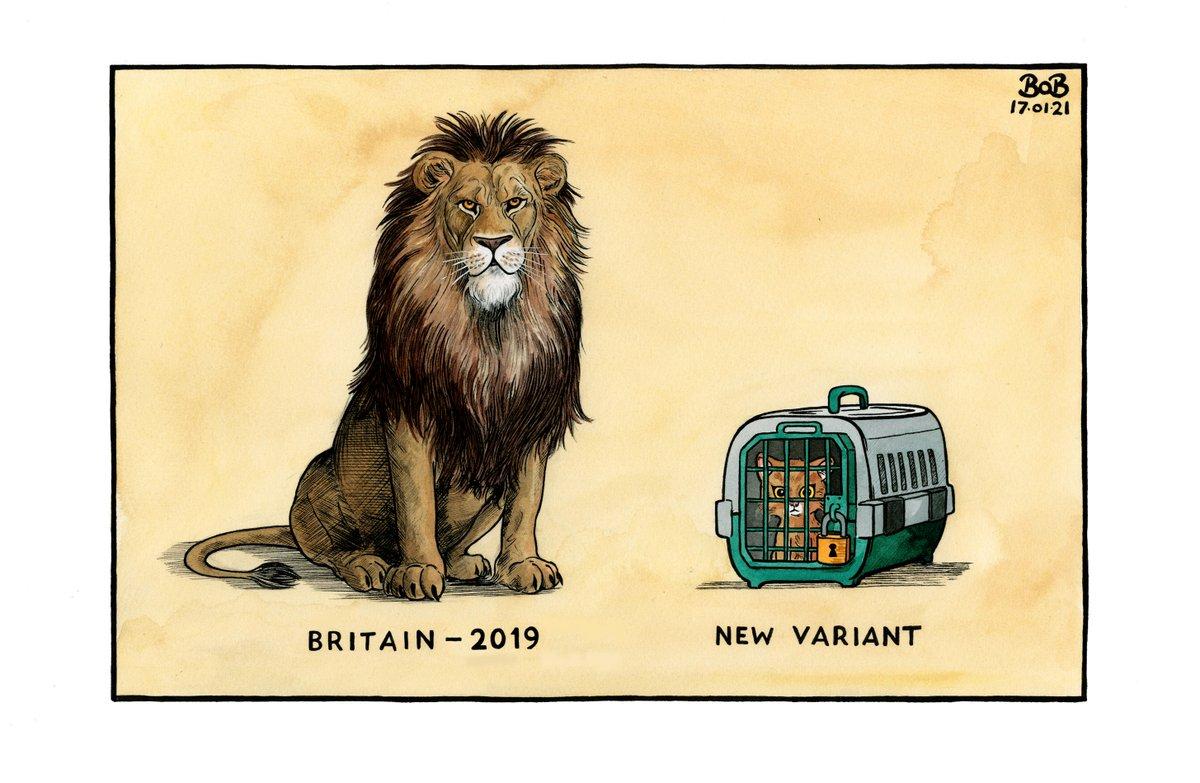 .@Telegraph cartoon for Sunday 17th January 2021