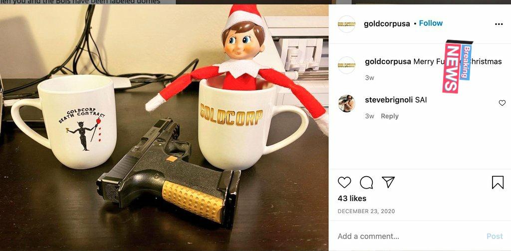 More #goldcorp brand #DomesticTerrorism   #TrumpCoupAttempt  #TrumpTerroists