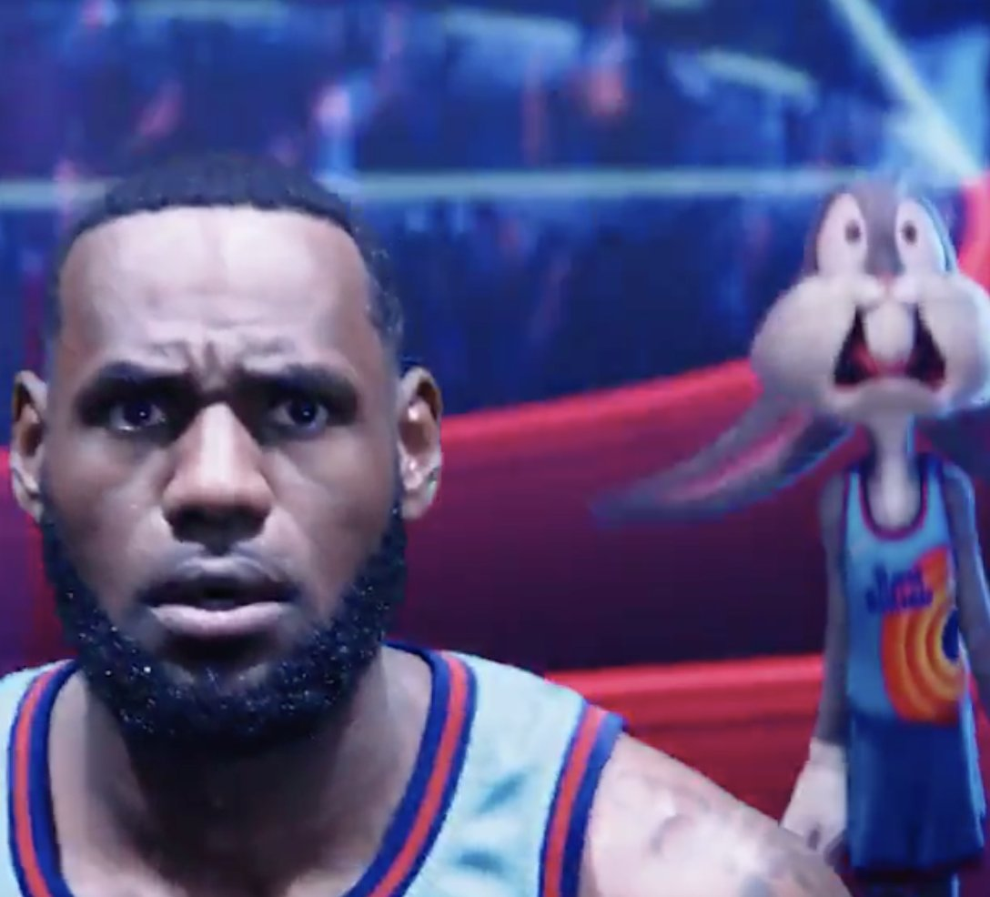 First look at @KingJames in 'Space Jam: A New Legacy' 🐰    (via @hbomax) https://t.co/hpzXGWhUBs