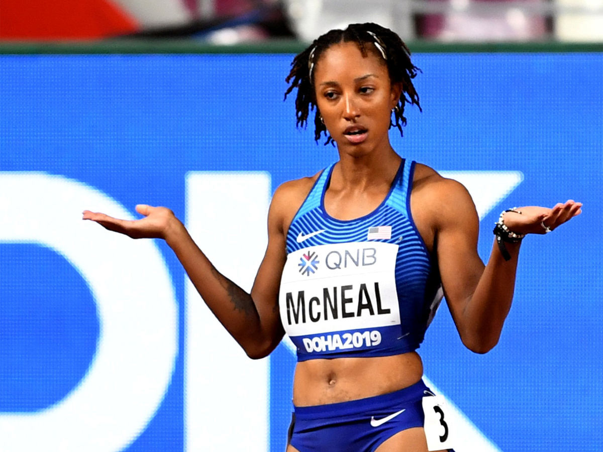 Olympic hurdles champion McNeal denies testing positive for banned substance   Read: