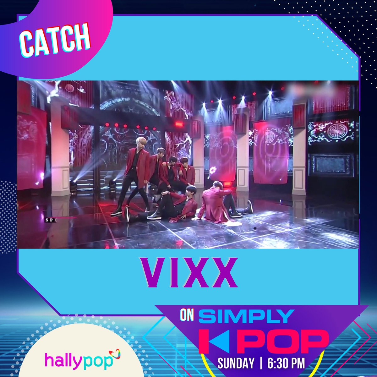 Simply amazing voices and visuals! Watch VIXX tomorrow on #SimplyKPop!
