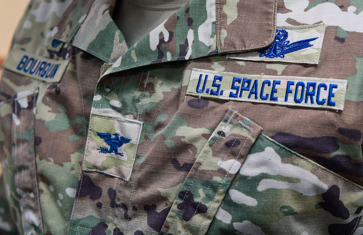 From Spice Brown to Space Blue, Airmen have been busy becoming Guardians.  @usairforce  #SemperSupra