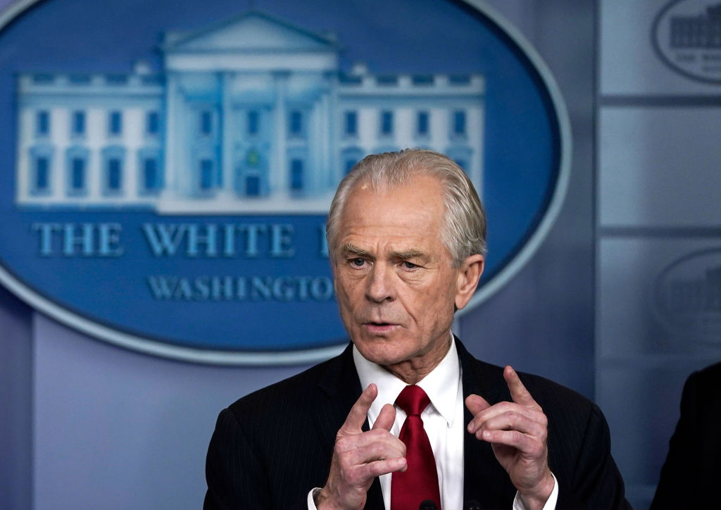 Replying to @newsmax: Peter Navarro says, 'Parler ban is a threat to Democracy'