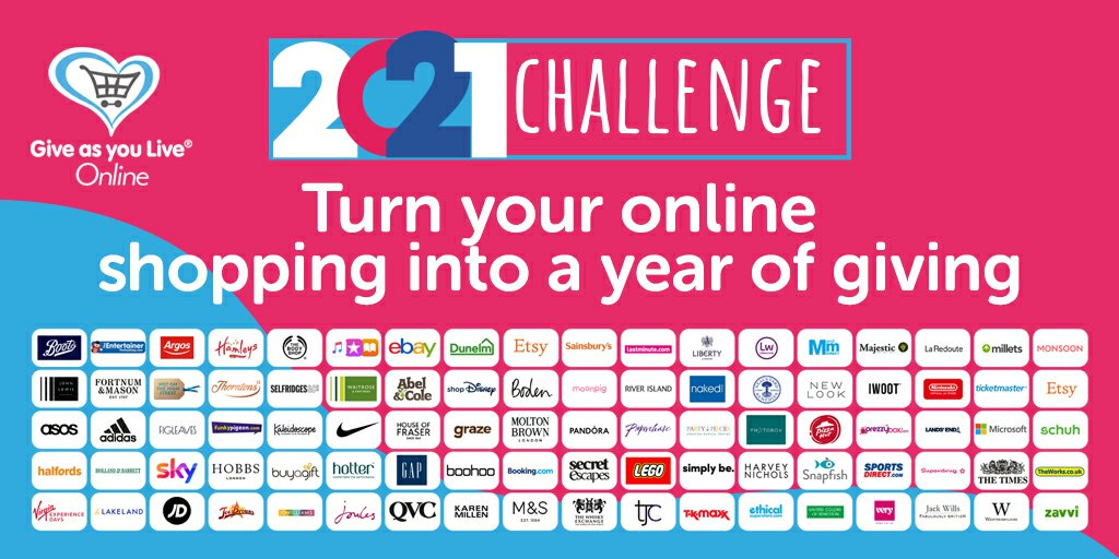 test Twitter Media - Ready for a low-effort challenge that could make a BIG difference? Sign up to @GiveasyouLive today and make 2021 the year you generate a free donation for us every time you shop online > https://t.co/y9LtSA2STQ https://t.co/a1EGv53tUm
