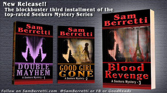 #SaturdayVibes #Weekendfun :: #BookLovers  Looking for a hot new #mystery #thriller?  Take look at this short video synopsis of the Seekers Mystery #Series Here>>