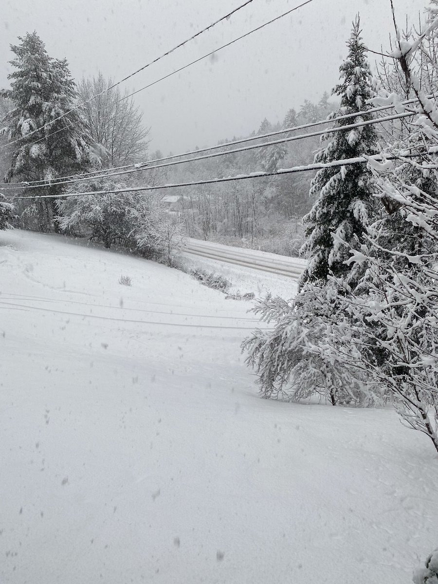 #SaturdayMorning yikes! #snow