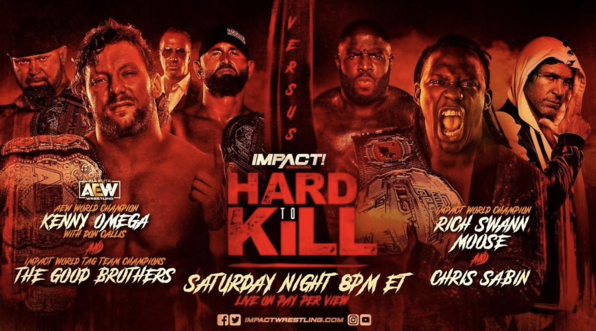Impact Wrestling #HardToKill Main Event Changes!  Latest SCW #YouTube upload is now available on link below for my thoughts on tonight's main event.    #ImpactWrestling #IMPACT #IMPACTonAXSTV #WrestlingTwitter #WrestlingCommunity