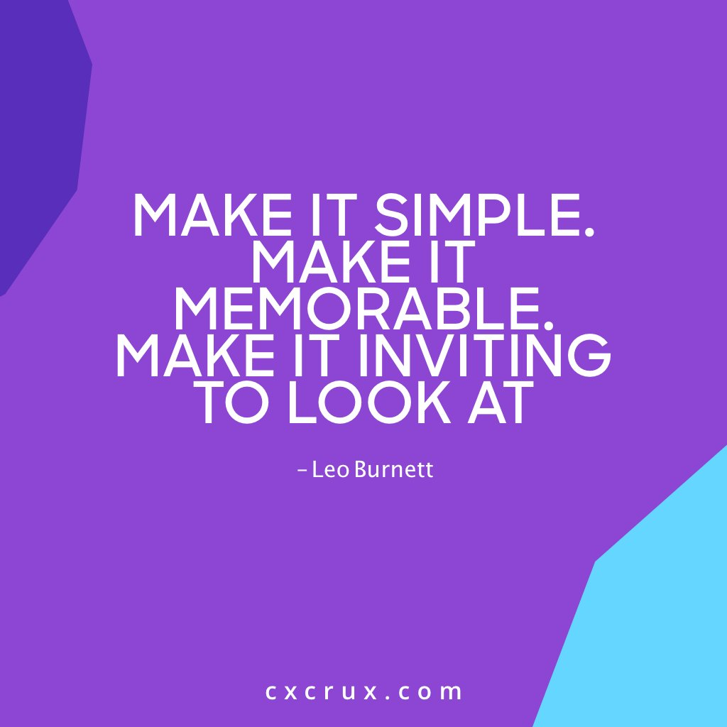 Each time you produce content, make certain to make it engaging & fun for audience  Make it inviting yet simple by ensuring It's clear & valuable  When people relate to your product, then they remember you  - #CxCrux  #MarketingTwitter #SaturdayVibes #StolenValor #SaturdayMorning