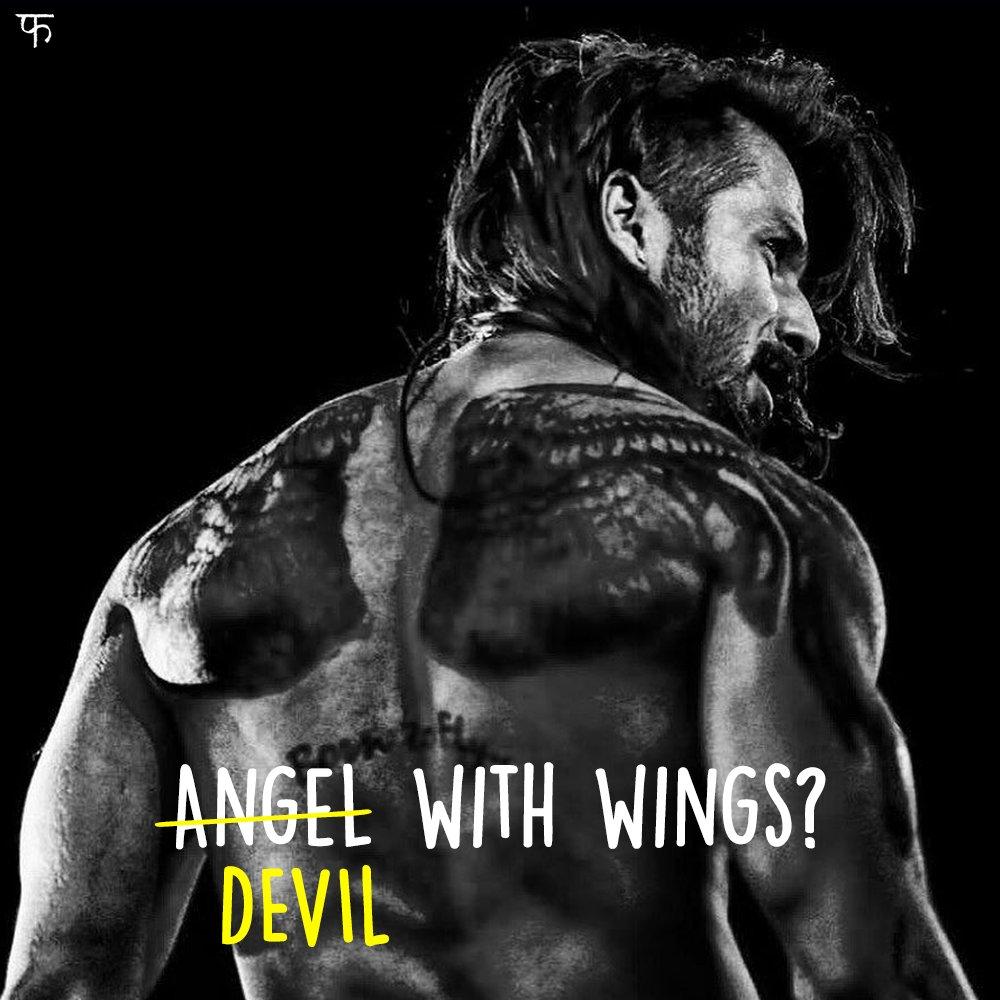 Har bande mein angel aur devil hota hai! #UdtaPunjab @shahidkapoor