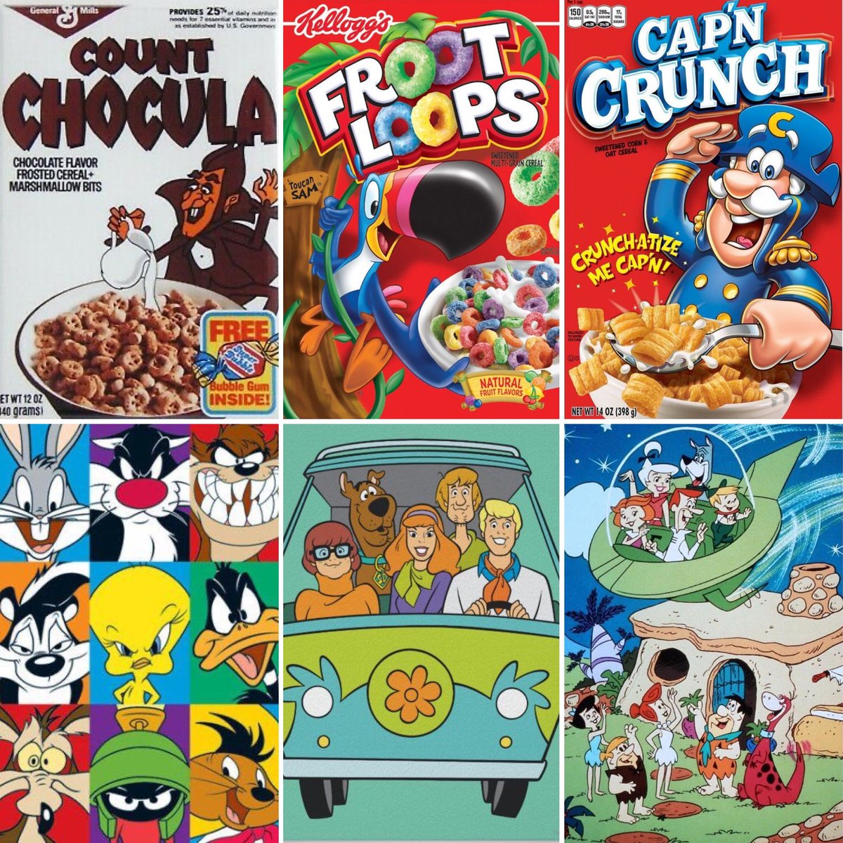 What was your perfect Saturday morning growing up? Mine started with Flipper, then these favourite throwback cartoons and junk cereals 😋 @KatherineDines #SaturdayVibes
