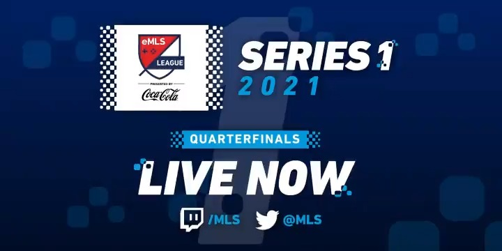 Replying to @ScufGaming: Let's goooo! @eMLS 2021 Series One Quarterfinals start NOW on Twitch: