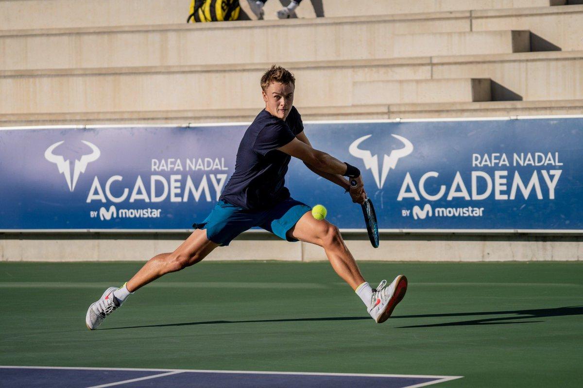 ¡Tendremos una final 🔝 mañana en el torneo @ITFTennis by @lgespana! ¡Holger Rune 🇩🇰 se medirá a Evan Furness 🇫🇷! 🎾🔥
