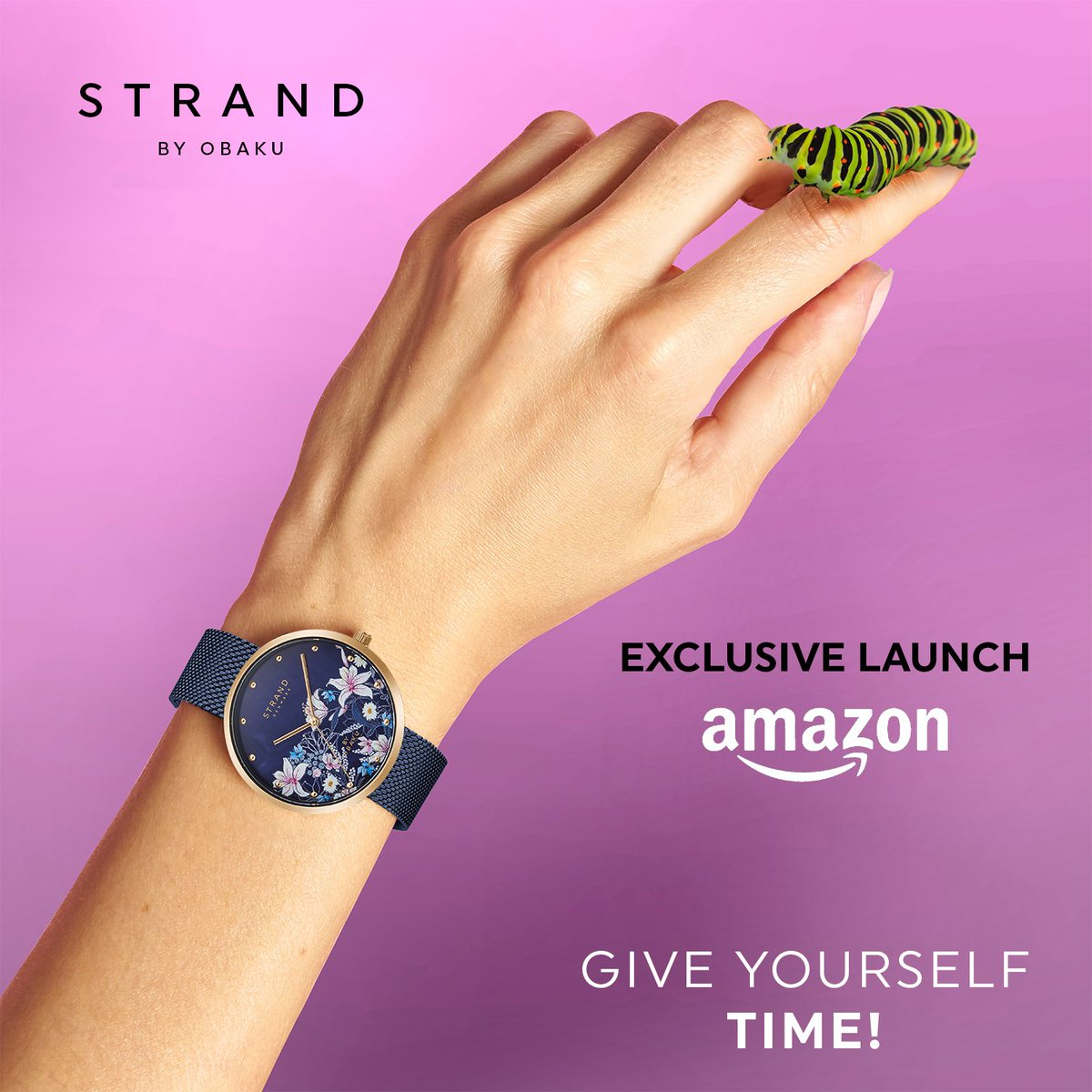 Dress your wrists in the minimal & subtle style that Danish design is so famous for with watches from #StrandByObaku! Hurry & shop now to enjoy ₹500 off on their timepieces:   #Obaku #Watches #DanishDesign #Fashion #Style #AmazonFashion #HarPalFashionable
