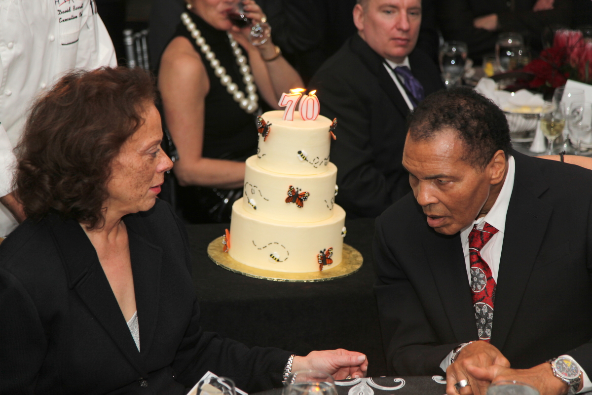 Muhammad Ali–a man of many titles. One of his most famous being the 3 Time Heavyweight Champion of the World. But he was also a Heavyweight Humanitarian. Please help us honor Muhammad's giving spirit for his 79th birthday tomorrow by giving back to those in our community in need