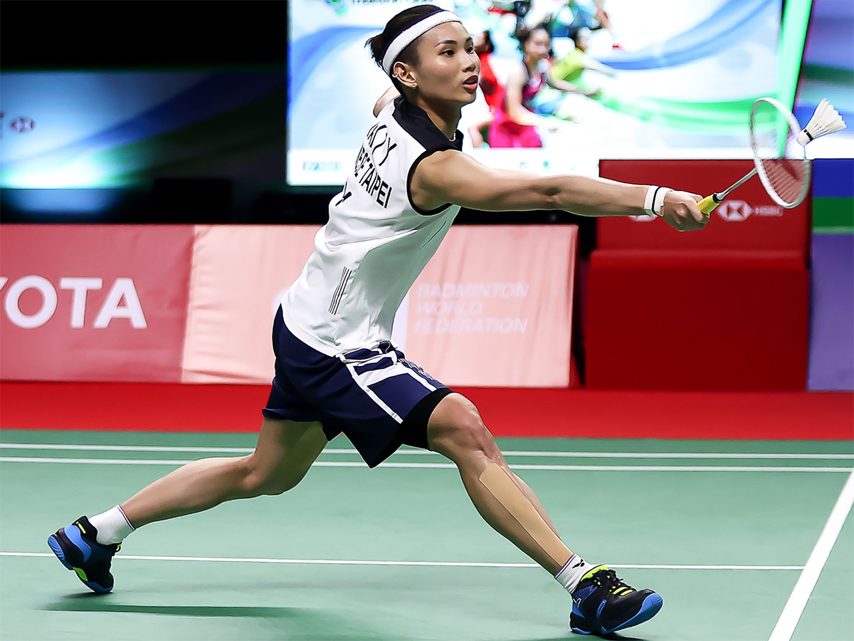 #ThailandOpen2021  Top-ranked Tai pushes through to final of badminton's Thailand Open  Read: