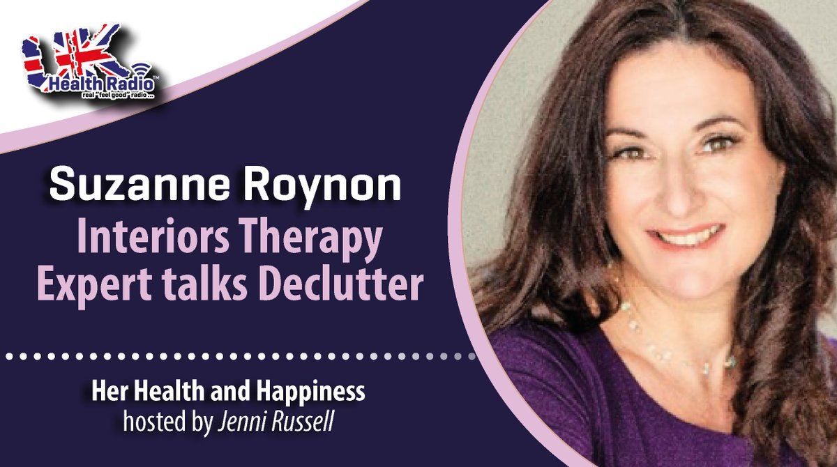 Her Health & Happiness with @PelvicSecrets on @ukhealthradio - Dave Perera talks #Parler being closed down by #Amazon #Apple & #Google after #DonaldTrump tweets re - the riot on #CapitolHill. #Interiortherapy #expert @SuzanneRoynon talks #declutter. 👉🏼 🎧