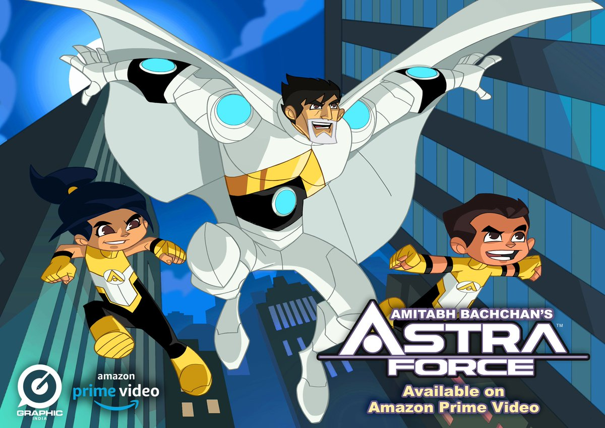 Eight-year-old twins, Neal and Tara, accidentally wake Astra, a superhero in hibernation.  Watch it on Amazon Prime Video.   #astra #force #amitabhbachchan #anime #animation #2danimation #saturday #saturdayvibes #amazon #prime #primevideo #saturdaynight #saturdaymood
