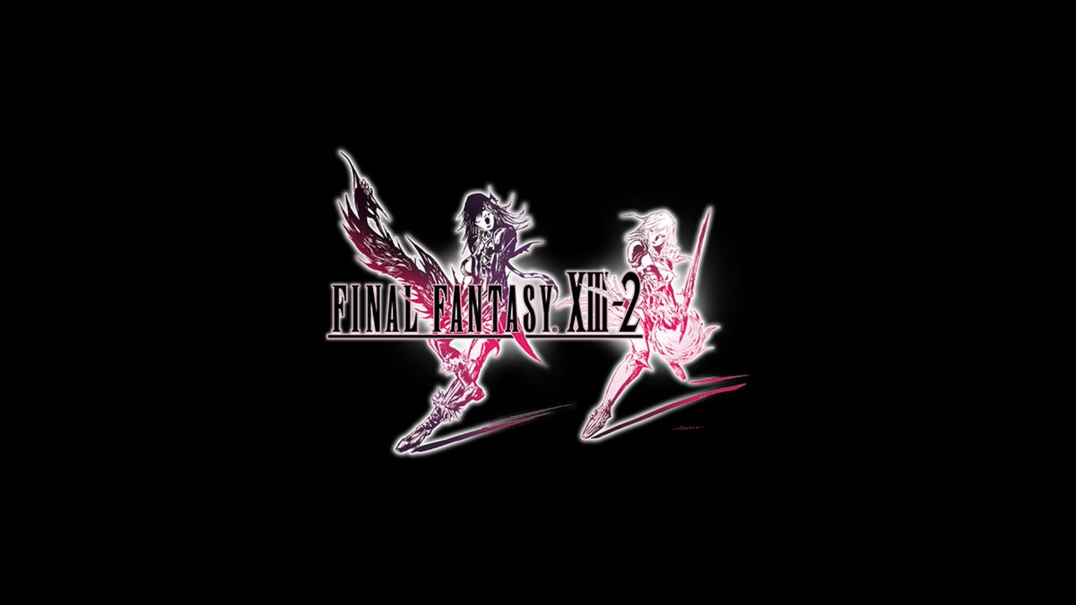 Prolly a bit moot at this point but I finally finished Final Fantasy XIII-2. #exciting #ffchallenge #nearlythere