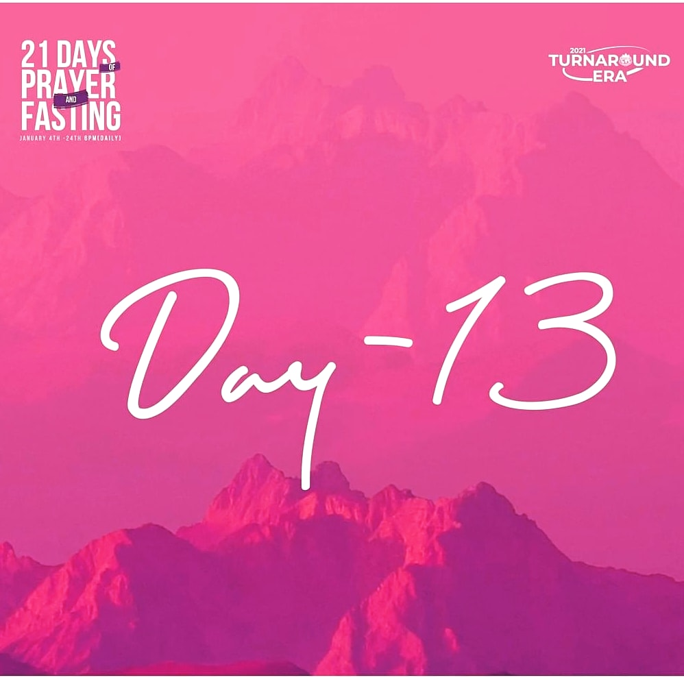 #Repost @ft_canaanland ... All barriers on your path will clear off before this season is over in the name of Jesus! #Day13 #21daysofprayerandfasting #TurnaroundEra