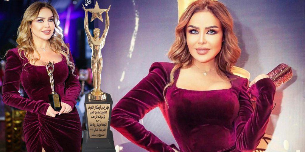 """رولا سعد تفوز بجائزة أفضل عمل غنائي لعام 2020 عن """"لاغيني تلاقيني""""  @rolasaadsinger @LifeStylezst @DirectorZiad  @kallagha @MusicNationme"""