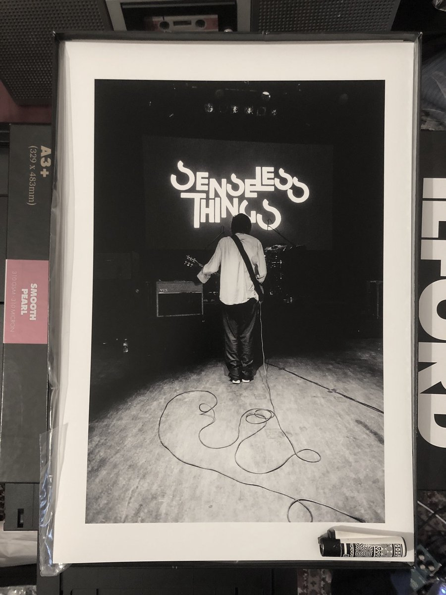 Selling these giant A3+ prints from final Senseless Things show to raise funds for the family of Mark Keds following his untimely death this week - £50 delivered  #senselesstweetz #senselessthings #markkeds #keds https://t.co/8v72Wed1ON