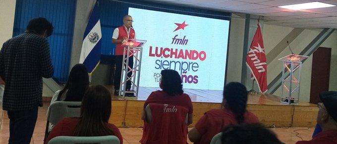 "FMLN presenta plataforma legislativa ""Luchando siempre por tus sueños"""
