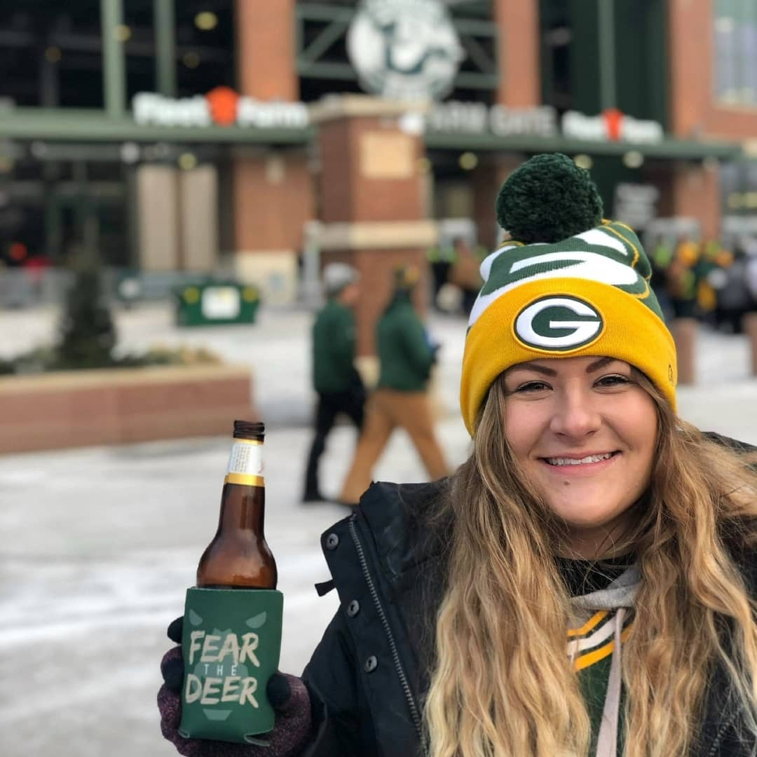 Wishing there could be a completely packed stadium today, but as always: #GoPackGo