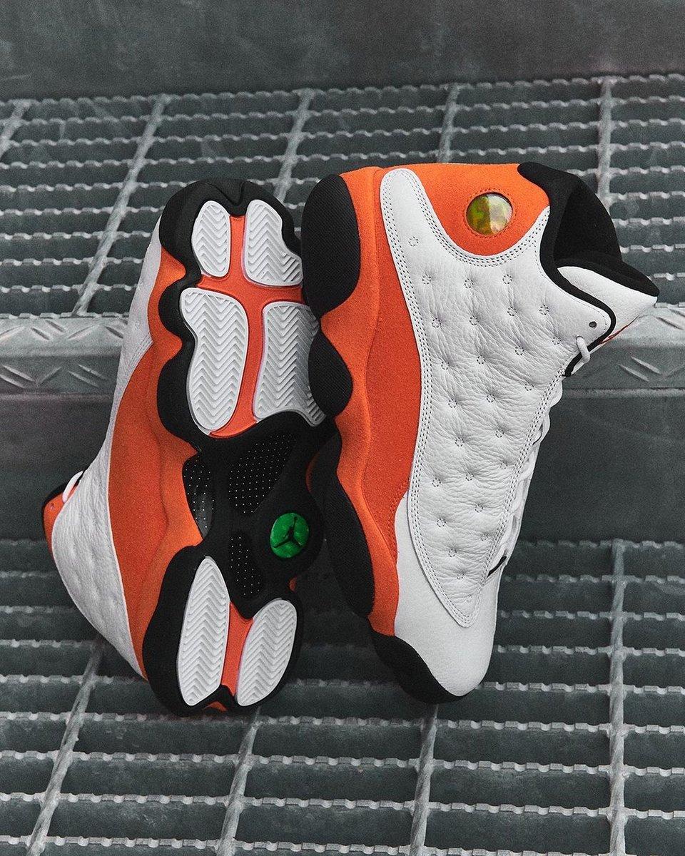 @footlocker Sizes 7.5-16 on @FinishLine. Air Jordan 13 Retro Starfish.  FNL   JD    #ad