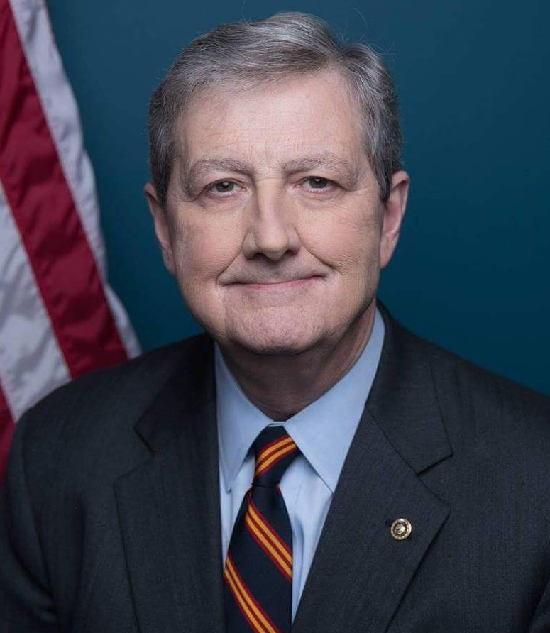 This is John Kennedy, Republican Senator from Louisiana.  He should be expelled from the Senate, arrested, charged & prosecuted for conspiracy, sedition & inciting insurrection.