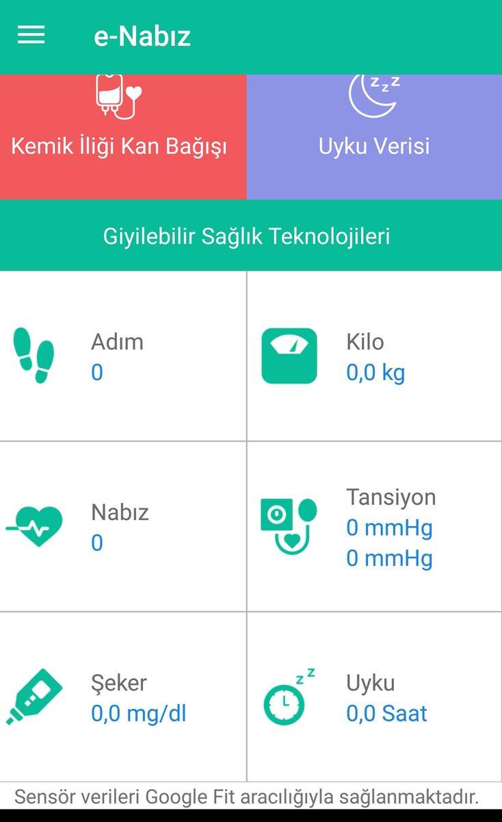 #dijitalfaşizm le mücadele, #WhatsAppSiliyoruz deniyor. Hepsi lafta. Alt yapısı bizim olmayan #dijital e göbekten bağlıyız.  #ENabız a bakın, Giyilebilir Sağlık Teknolojileri kullanacağız,  cihaz verileri önce #Google bildirecek, sonra    #GoogleFit üzerinden veri bize gelecek.