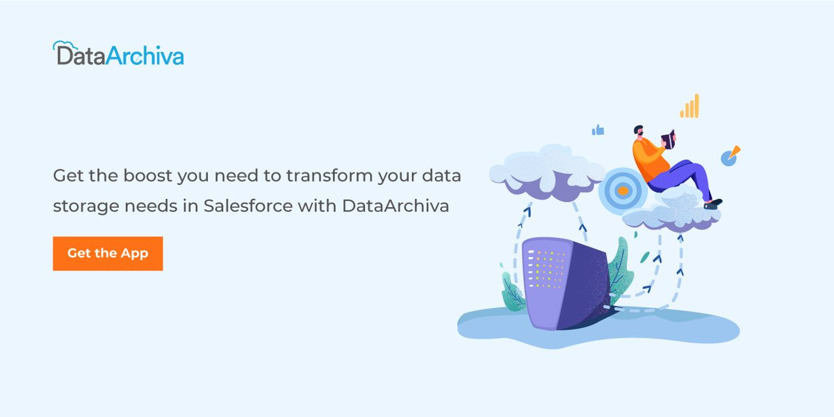 Get the best from your business data in #Salesforce without worrying about the storage limitations. Archive all your historical & #compliance data today to meet critical data goals. Get in touch to know more:  #AppExchange #DataManagement #DataArchiving
