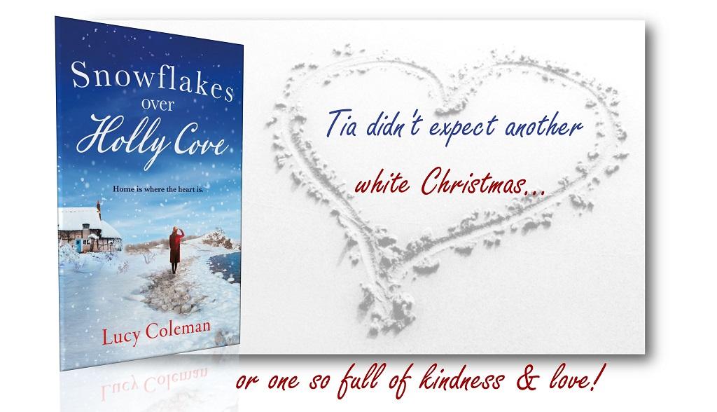 Tia has never seen #snowflakes falling on a beach. Alone and lonely, the warmth of a whole community is enough to warm her heart this #Christmas. #AriaFiction #GowerCoast   ☃️ Buy:  Read Chapt. 1: