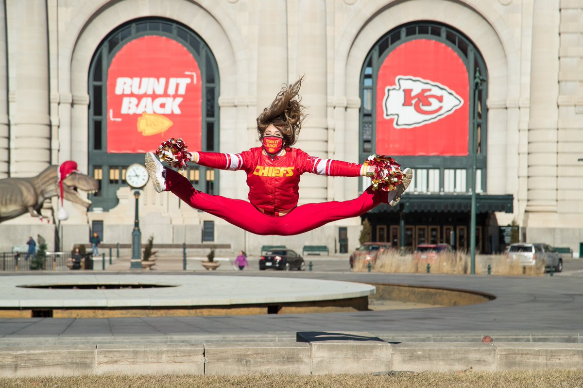 Replying to @ChiefsCheer: Jumping for joy because tomorrow is gameday 🏟