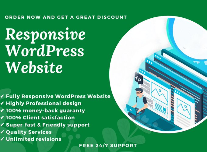 We will build a responsive WordPress website design   . #Caturday #SaturdayMorning #WOLWBA #BillsMafia #SaturdayVibes #GoPackGo #SaturdayThoughts #StolenValor #CoronaVaccine #CovidVaccine #LEEBHA #lufc #BCFC #SAFC #WHUBUR #wwfc #WordPress #Website