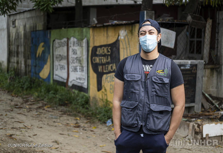 Santiago's brother was killed by a street gang in Honduras.  But instead of seeking revenge, he's turned his pain into something positive for the community and is fighting against street gangs as the director of a not-for-profit called Youth Against Violence @JCV_Honduras.