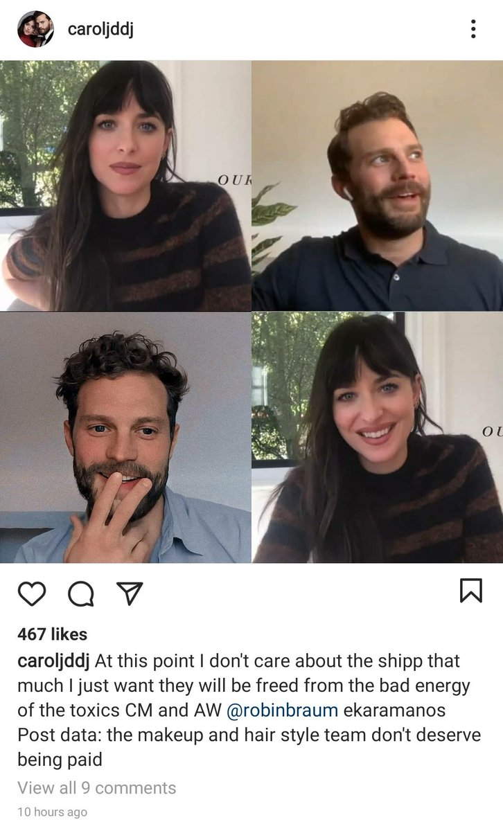They're unraveling fast and it's beautiful to watch 🤪😁  #JamieDornan #AmeliaWarner #hatersgonnahate #staymad