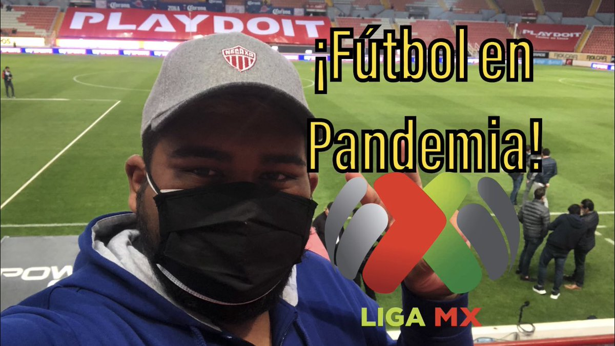 https://t.co/LupXsW4aIk So went to the Necaxa vs San Luis match last night at the Estadio Victoria. Here's a vlog about what it's like to experience a Liga MX match in the middle of this pandemic. #LigaMXeng https://t.co/7B2ttYnATB