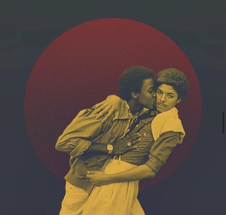"""Black men loving black men is THE revolutionary act."" - Marlon Riggs  Art: @blackcollage_  #SaturdayLove #SelfLove #Jackd31DaysOfJanuary #Day18 #Jackdapp"