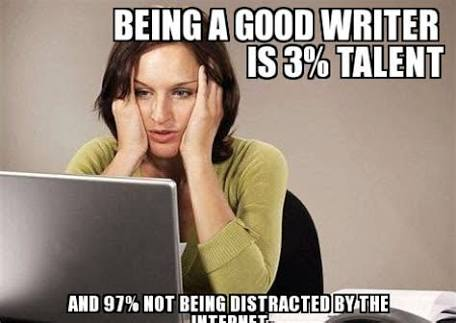 And that inability that so many of us #Writers suffer from to SWITCH OFF THE INTERNET explains a lot about our less-than-stellar #productivity wrt #writing!  #amwriting #writerslife #writerscommunity #writinglife #writerlife #writer #writersofinstagram #writetwt #WritingCommunity https://t.co/bHACe0dnBH