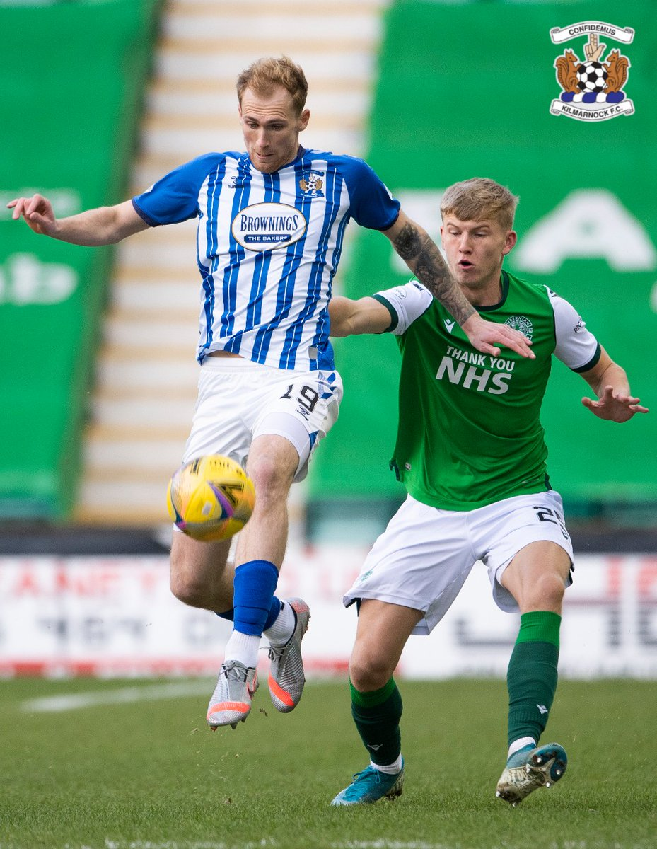 Hibs 0-0 Killie The hosts restart the match at Easter Road