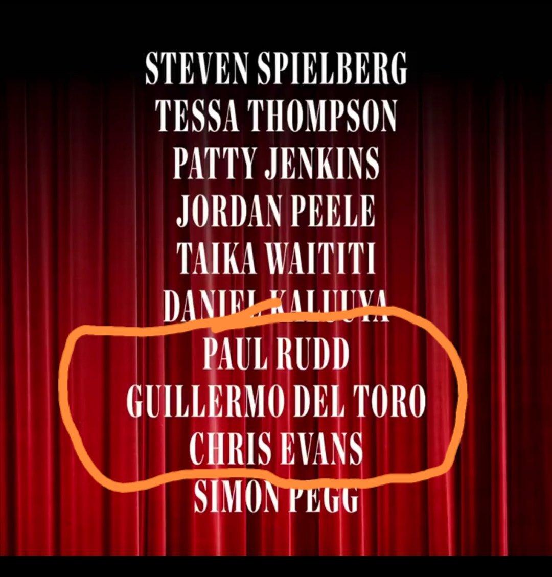 Pues a mi si me andaba gustando ver en una película de @RealGDT a @ChrisEvans y #PaulRudd