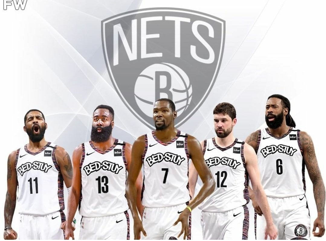 4 Legit Shooters how is this going to workout? #Nets #nba #basketball #NBA2K21 #NBATwitter #NBATwitterLive #ESPN2 #Espn