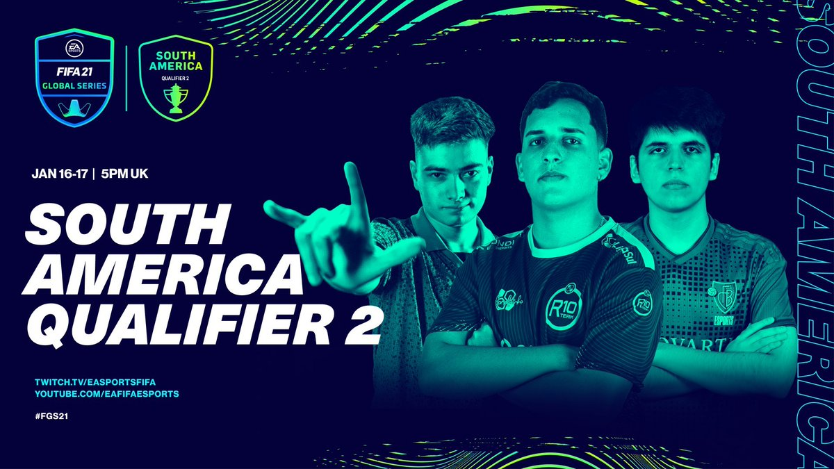 A stacked weekend of South American FIFA..   XB1 @PHzinR10 🇧🇷 @SPQR_TheusLopes 🇧🇷 @RampazzoR10 🇧🇷 @Gabrielpn00 🇧🇷  PS4 @Tore77_ 🇧🇷 @Nicolas99fc 🇦🇷 @Matiasbonanno9 🇦🇷 @elegpt97 🇵🇪  So who's your money on?