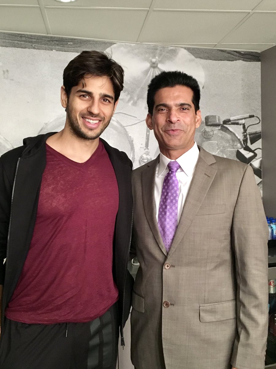 Happy Birthday to my friend ⁦@SidMalhotra⁩ . I wish you immense joy, laughter,and love on this beautiful day. Enjoy, it's your day!!! #HappyBirthdaySidharthMalhotra