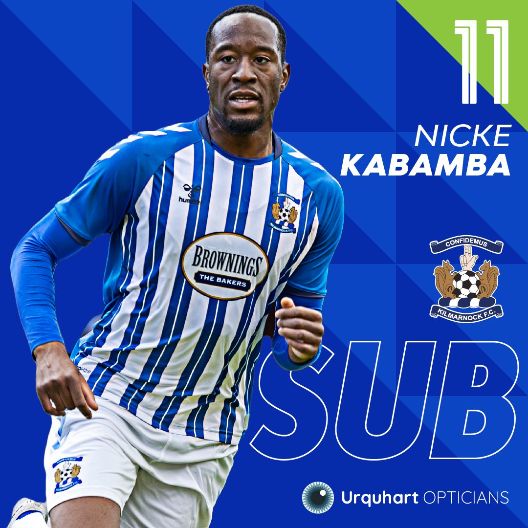 60' | Double change for Killie Burke and Kabamba replace Tshibola and Whitehall Hibs 1-0 Killie