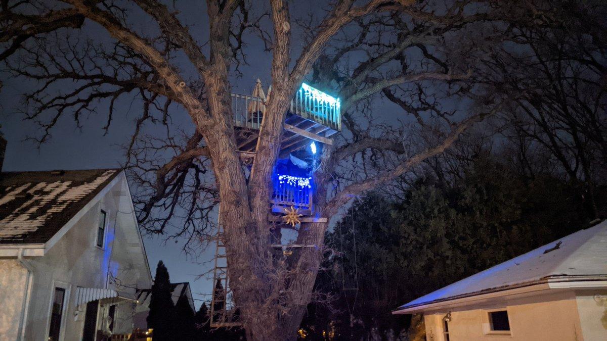 Keep those childhood dreams alive.   #sterlingjacksonrealestate #sterlingjackson #sterjackre #realestateisgreat #treehouse #treehouses #lights #christmas #christmaslights #tree #adulting #night #fun #dreams #childhood #nevergrowup #nightphotography #googlepixel #nightsight