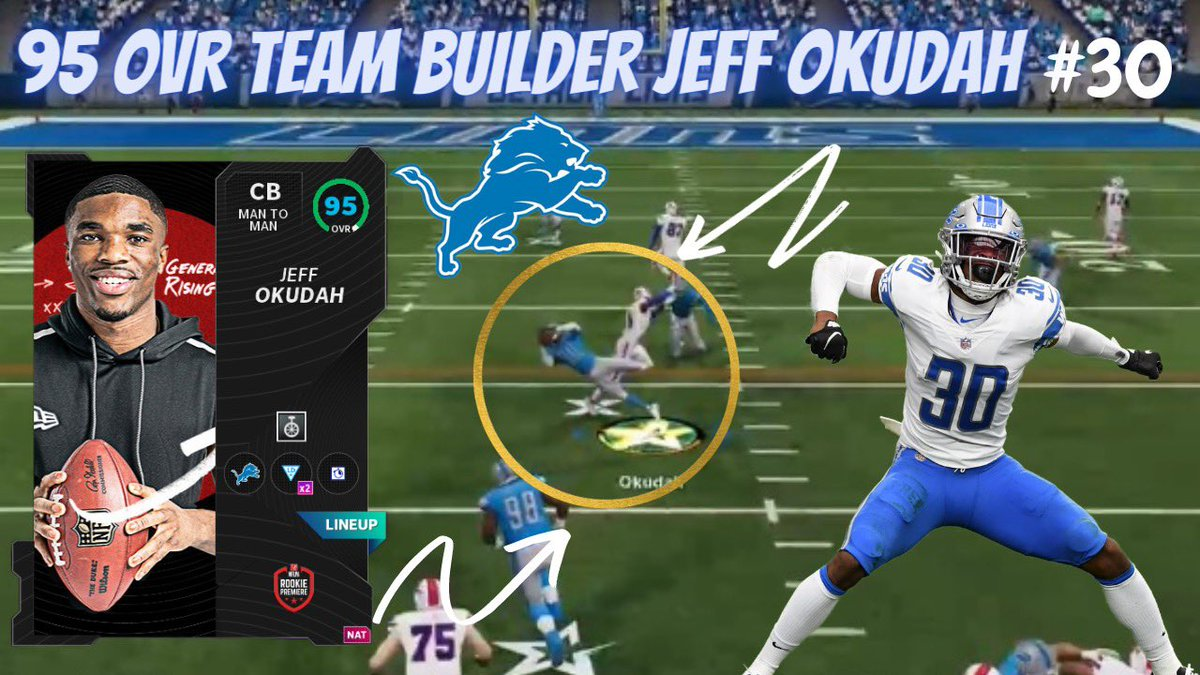 Dropping at 5 PM! Lions Theme Twam #OnePride #Madden21
