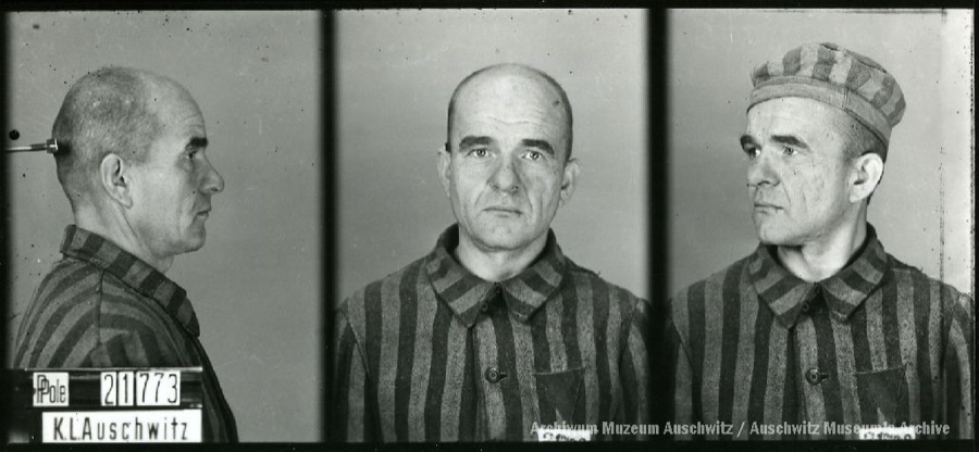 17 January 1899 | Pole August Wojtusiak was born in Pława. A train conductor. In #Auschwitz from 16 October 1941. No. 21773 He perished in the camp on 25 March 1942.
