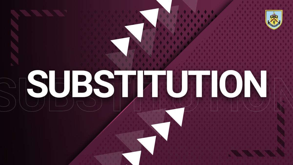 72' Final change, Rodriguez is on for Wood. 1-0  🎙️-   #WHUBUR | #UTC
